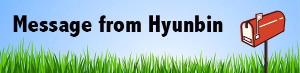 Message from Hyunbin